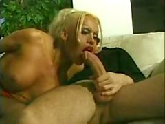 Kinky Blonde Tranny Analed Hard Before Creaming