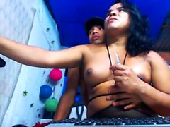 Amateur Tranny Webcam Striptease