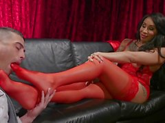 Honey Foxxx and Lance Hart: Private Dancer