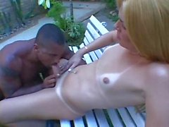 BBC making hard love to his girl