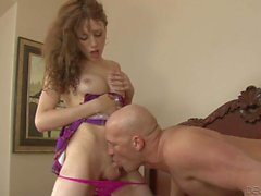 Skinny t-girl Kylie Maria gets her tool sucked