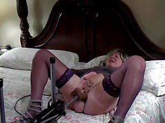 Jennifer sucking and getting fucked hard.