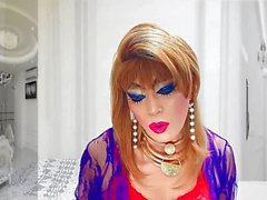 sissy girl niclo sexy heavy makeup12