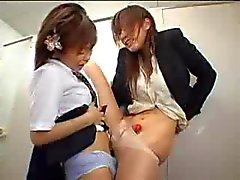 Japanese transsexuals in the subway