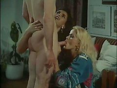 Shemale Gets Barebacked In Black Stockings