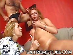 Walkiria Drumond in hot threesome
