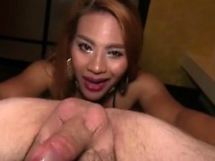 Crazy ladyboy with huge dick