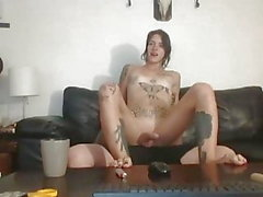 Sex on sofa