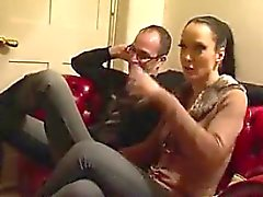 From milf-meet - Kinky wife in PVC with crossdressing hu