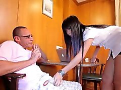 Glam ladyboy ass pounded doggystyle