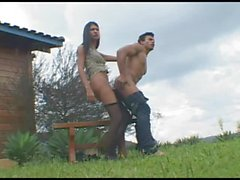 Bruna fucks guy - 3