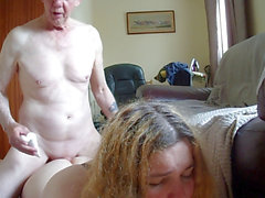old StepDaddy manhandles Young Trans Girl Part two