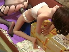 Oh my god, my doll is Pegging me
