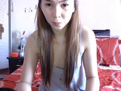 Filipina Asian Ladyboy is very cute doing her thing on cam