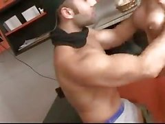Horny TS Gets Fucked In The Kitchen