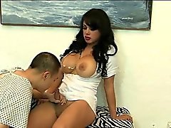 Tranny nurse Isabella Star is assfucked