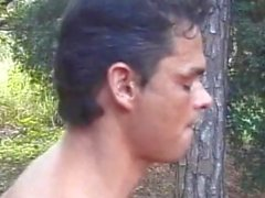 Found a Brazilian Tranny in The Woods