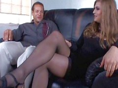 TS prostitute Tiffany Starr blows client