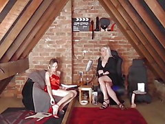 SEX IN THE ATTIC 3.1 with Katie Fox & Lucie Sparkle