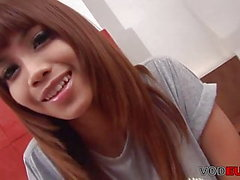 Beautiful ladyboy with small cock