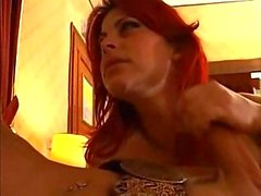Raunchy Dude Joins Hot Trannies Sucking