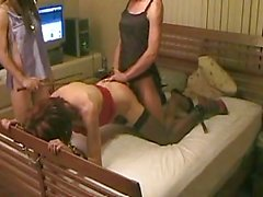 Jasmine does two other tgirls pt4