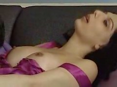 Titty Brunette Slag Analed Before Cumshot