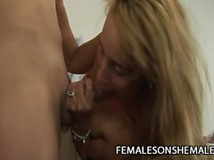 Alessandra Leite - Filthy Slut Massage Fucked By A Tranny