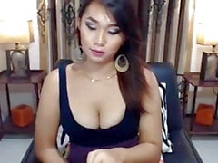 Cute shemale sucking and having a anal sex