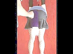 Kitsy ladrando. Pet puppy spanked till she barks. CD'TV